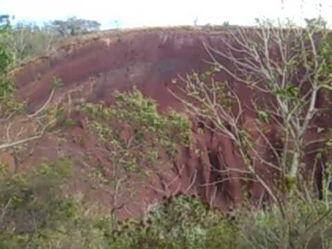 Un cerro rojo