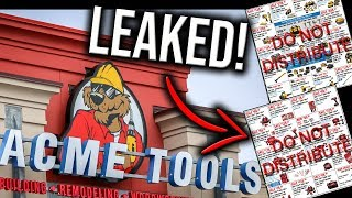 LEAKED BLACK FRIDAY/CYBER MONDAY TOOL DEALS (2019) FROM ACME