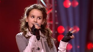 Juliette - 'Fight Song' | Blind Auditions | The Voice Kids | VTM