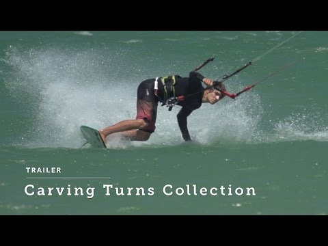 Carving Turns Trailer - Progression Kitesurfing Instructional Videos