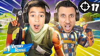 Ferran & Ali Play FortNite Duos For FIRST TIME! | Royalty Gaming