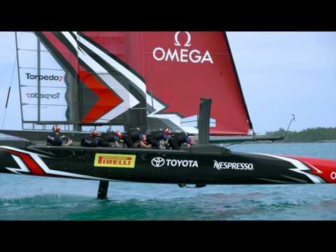 America's Cup 2017 - P Zero on the water.