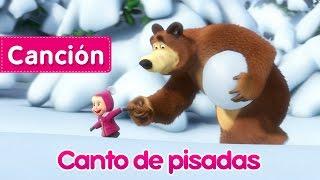 Masha y el Oso - Canto de pisadas (Rastreadora de Animales Desconocidos) Nueva canción infantil!