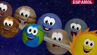 Planetas canción   Canción de cuna