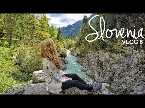 Slovenia: Slap Virje, Slap Boka & Soca Valley | Vlog 06 | WORLD WANDERISTA