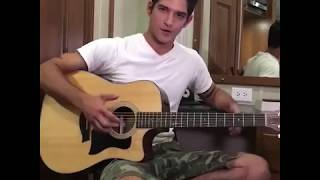 TYLER POSEY SINGING AN ORIGINAL SONG - TEEN WOLF