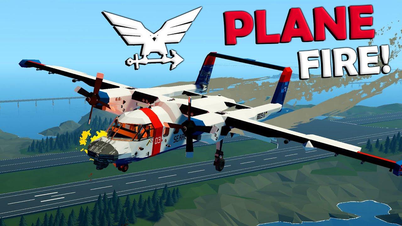 Frantic - Crashed A SAR Plane While Landing!  -  Stormworks Gameplay  -  Light SAR/Observation Plane