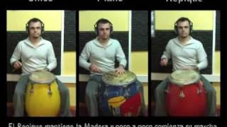 Candombe. Video 2 de 7. Los 3 Tambores de Candombe Juntos - Candombe Drums Together