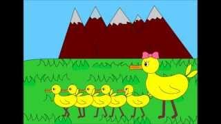 Cinco Patinhos Cantam Ah Lek Lek Lek