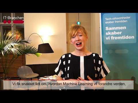 Linda Liukas ved IT-Branchens årsmøde