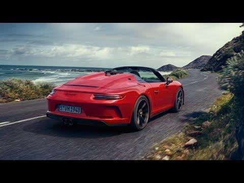 The new Porsche 911 Speedster: First Driving Footage