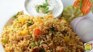 Spicy Sambhar Fried Rice ..