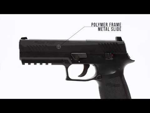 Video: Sig Sauer P320 Airgun Blow-back Pistol   Pyramyd Air