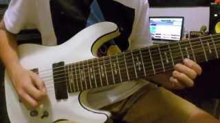 Schecter 8 String Omen-8 Demo