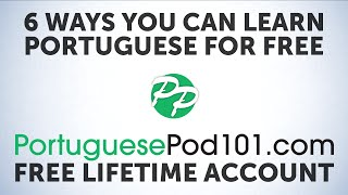 6 Free Features you Never Knew Existed at PortuguesePod101