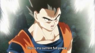 DBS Gohan Goes Mystic with Gohan's Anger Theme in DBZ with English Subs