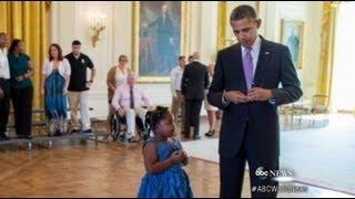 Kindergartener Gets School Absence Pardon From President width=