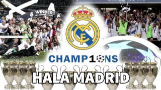 Himno de la Décima   Nuevo Himno del Real Madrid    Hala Madrid y Nada Más  720p