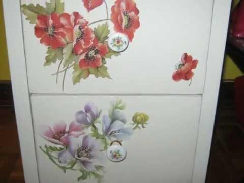 Come decorare una scrivania con il decoupage fai da te mania