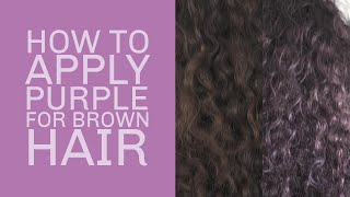 how to get purple hair without bleach