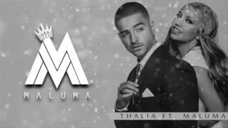Thalia - desde esa noche ft Maluma (letra)