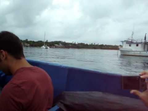 Panga to Little Corn Island, Nicaragua