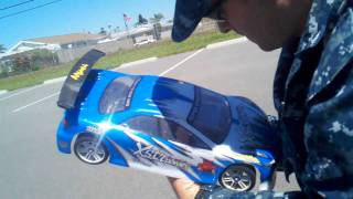 (112MPH PASS) REDCAT RACING / EXCEED RC Mamba Max Pro with 9000kv motor & Blue Lipo 4cell battery