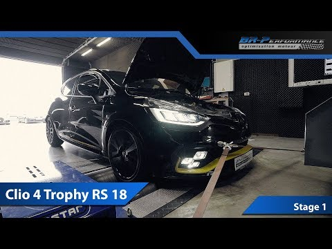 Renault Clio 4 Trophy RS 18 Stage 1 By BR-Performance