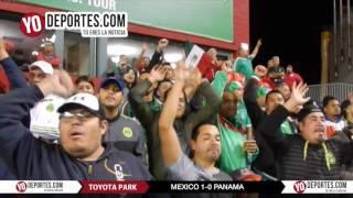 El gol de Oribe Peralta Mexico vs. Panama 1-0 Chicago Toyota Park