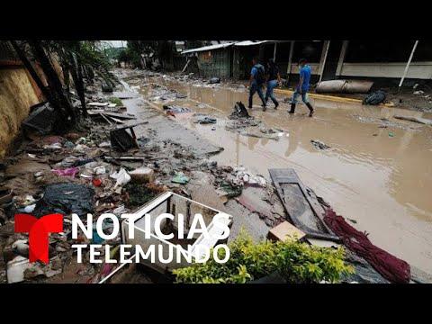 Honduras sigue viviendo un calvario tras el paso de los huracanes Iota y Eta | Noticias Telemundo