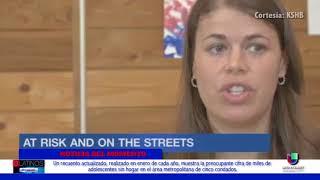 Miles de adolescentes sin hogar duermen en las calles de 5 condados en Kansas City