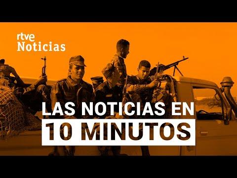 Las noticias del LUNES 16 DE NOVIEMBRE en 10 minutos I RTVE
