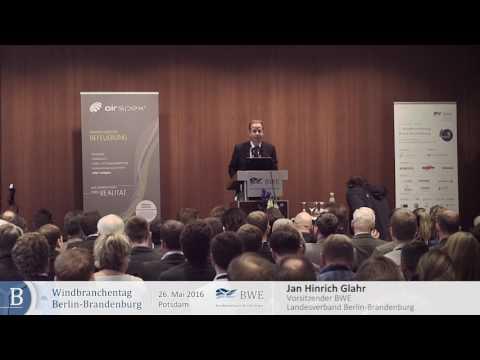Jan Hinrich Glahr, BWE Landesvorsitzender Berlin-Brandenburg