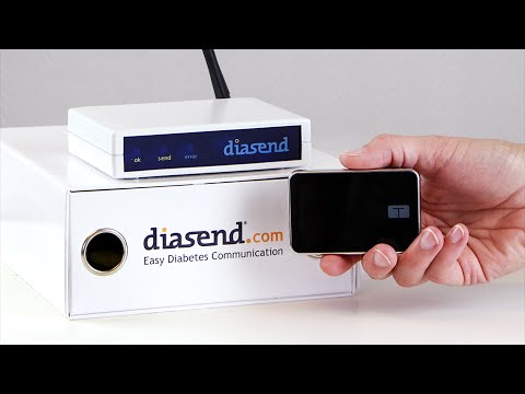 diasend® Clinic - Uploading Tandem insulin pump