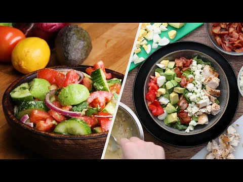 8 Satisfying Salads To Keep You Healthy & Happy ? Tasty Recipes
