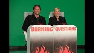 Bradley Cooper Answers Ellen's 'Burning Questions'