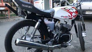 Suzuki Ax100 , afinando , sonido increíble .