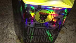 Diamond Splitter HD Cake by Black Cat Fireworks