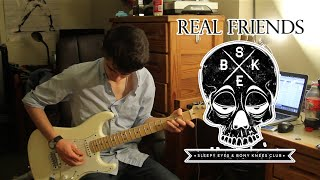Real Friends - Colder Quicker (Guitar & Bass Cover w/ Tabs)