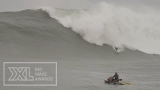 Jamie Mitchell at Maverick's - 2015 Ride of the Year (& Wipeout) Entry - XXL Big Wave Awards