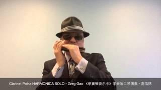 Clarinet Polka HARMONICA SOLO - Greg Gao 《单簧管波尔卡》半音阶口琴演奏 - 高信拱