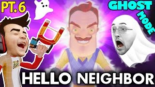 HELLO NEIGHBOR GHOST MODE Mod! Alpha 1 & 2 Tips & Tricks (FGTEEV Alpha 3 Next!)