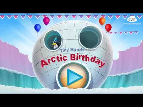Arctic Birthday – Learning Game for Toddlers. Learn to sort and classify.