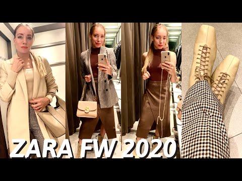 Новинки в ZARA осень 2020. Примерка и идеи стилизации
