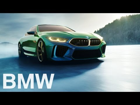 The M8 Gran Coupé Concept. BMW 2018.