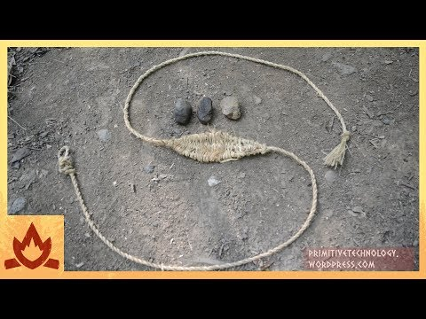Primitive Technology: Sling Poster