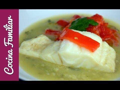 Bacalao en salsa verde con pimientos asados | Recetas caseras de Javier Romero paso a paso
