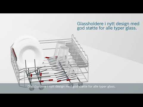 MaxFlex Pro – Bosch PerfectDry oppvaskmaskiner