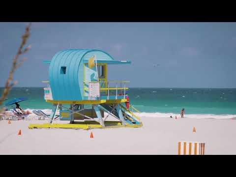 2019 Pirelli Calendar, Postcards from Miami