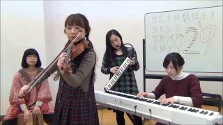 千本桜 feat. 初音ミク Senbonzakura 【FlyingDoctor(フライングドクター)】 黒うさP ボーカロイド ヴァイオリン ピアノ カホン HAMMOND 44 Hyper